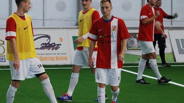 Reprezentace malé kopané na mistrovství Evropy.