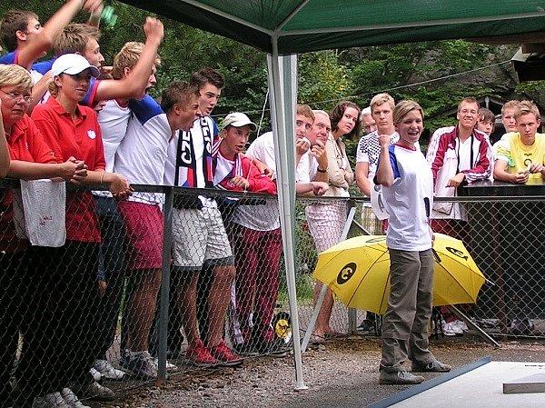 Mladá golfistka Simona Handlová z Brna