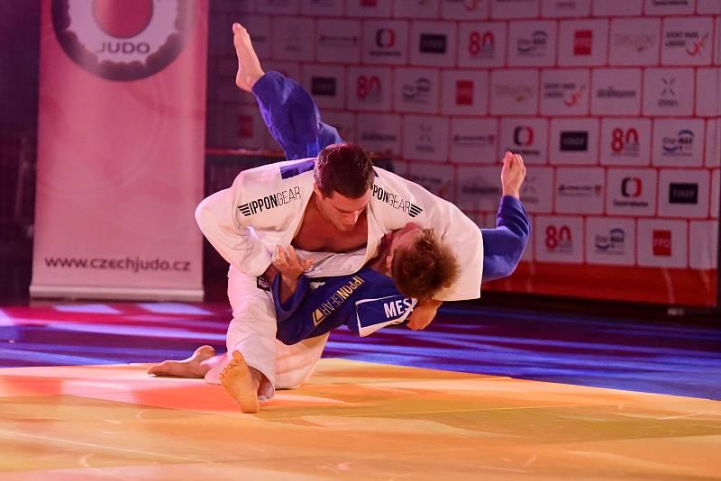 Brněnští judiste Tomáš Waldsberger a Jiří Petr vybojovali domácí zlato.