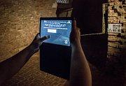 Přípravy, testování a natáčení aplikace Příběhy z kasemat.