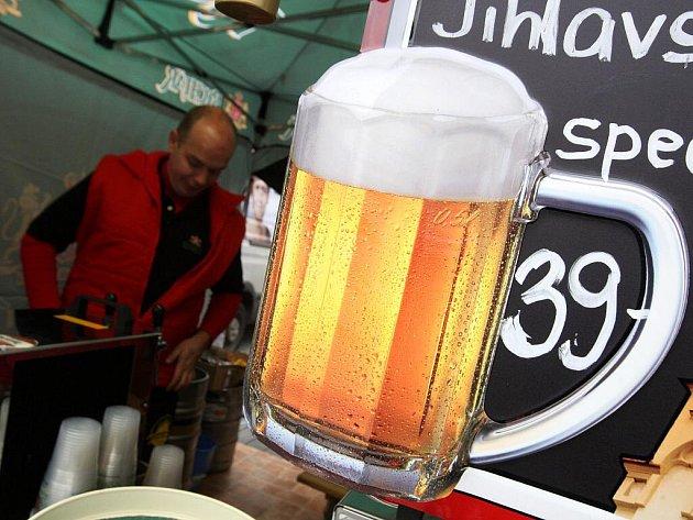Pivní slavnosti v Brně.