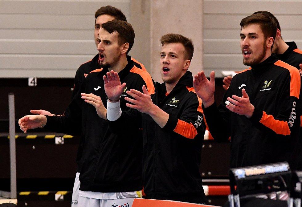 Volejbalista Daniel Římal na konci ledna opustil Brno a v pondělí získal s Karlovarskem mistrovský titul.