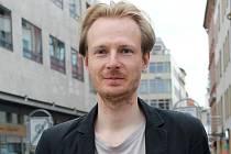 Botanik Ondřej Vild. Jeden z trojice Brňanů, kteří stojí za mobilní aplikací Flowerchecker.