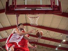 Česká basketbalová reprezentace se připravuje na zářijové mistrovství Evropy v Brně.