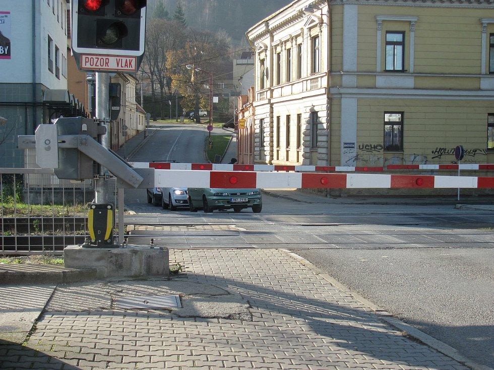 Přejezd Blansko-město.