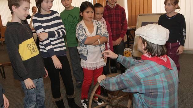 Děti soutěžily o putovního Brněnského dráčka.
