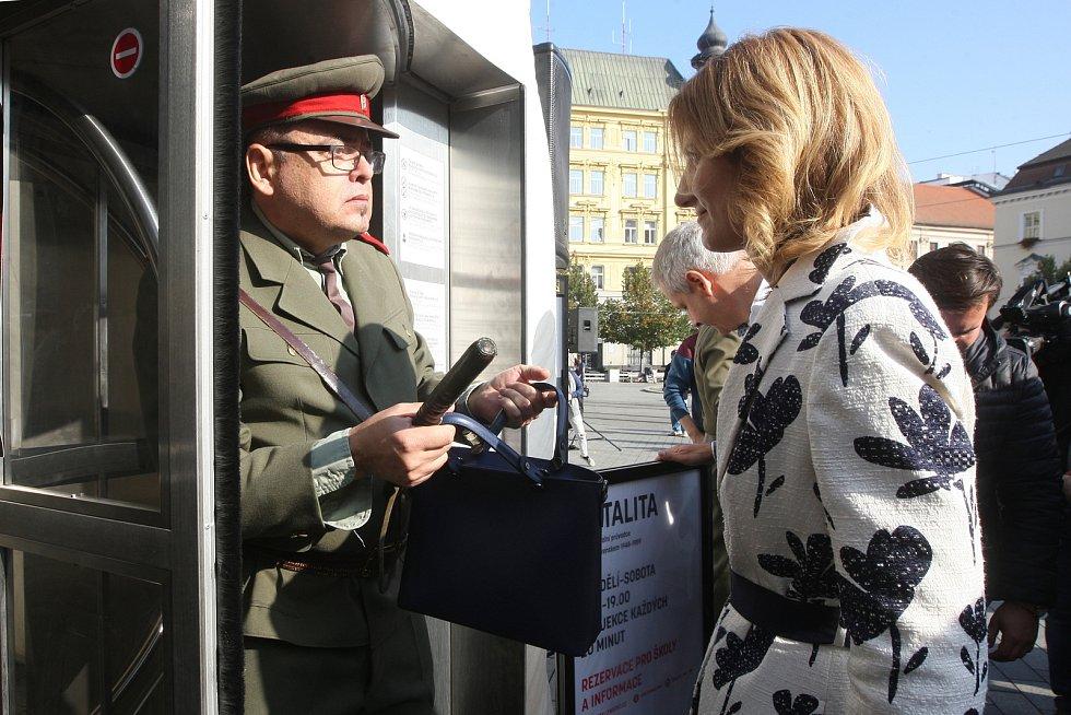 Brno 14.10.2019 - TOTALITA na náměstí Svobody v Brně