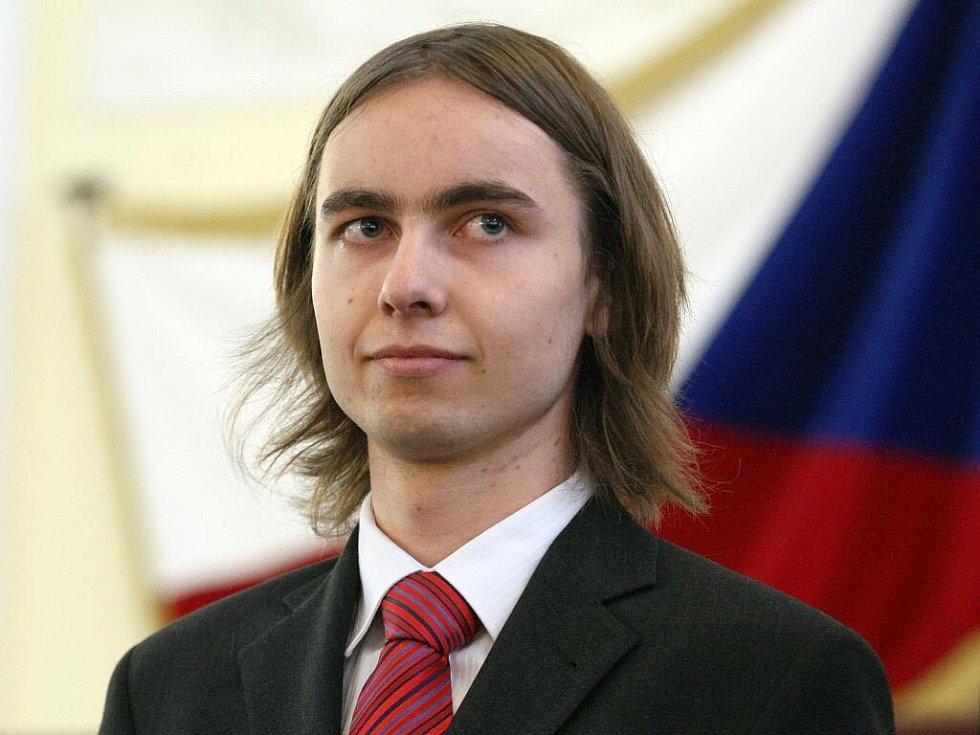 Student Jakub Vošmera.