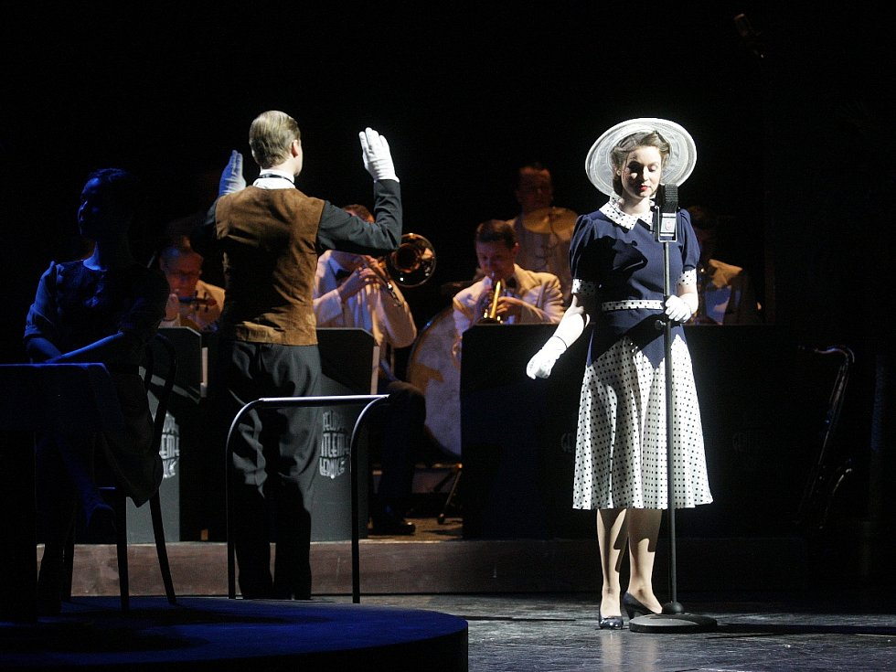 Vyhlašování výsledků ankety Cena Diva 2015 v brněnském Mahenově divadle.