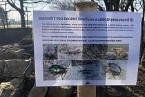 V Židenicích vandal poničil zimoviště pro hmyz.