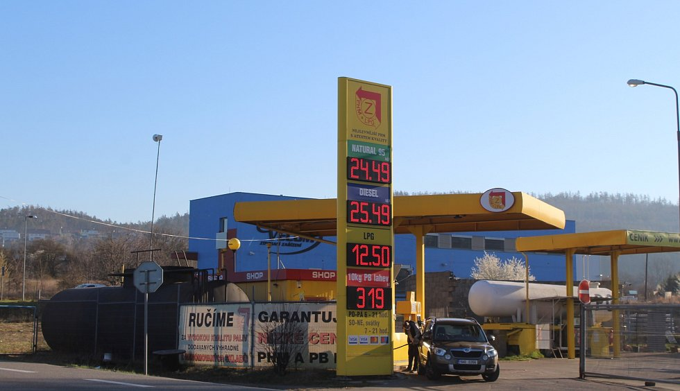 Zero Gas v Lipůvce na Brněnsku.