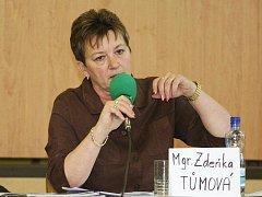 Místostarostka Brna-sever Zdeňka Tůmová.