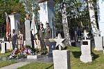 Představitelé Znojma, atašé generálního konzula Ruské federace v Brně i veřejnost si připomněli 74. výročí od konce druhé světové války.