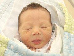 Damien Bareš z Brna nar. 16.5.2014 v Nemocnici Milosrdných bratří