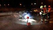 Vídeňskou ulici ve směru z centra Brna uzavřela nehoda tří aut.