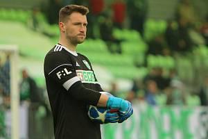 Martin Berkovec, brankář fotbalové Karviné.