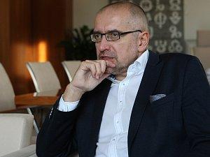 Nový senátor za Brno Mikuláš Bek.