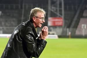 Trenér Miloslav Machálek.