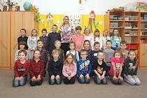 1. třída ze ZŠ Moravany u Brna