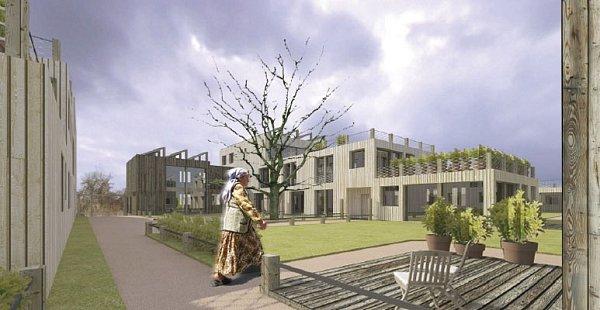 Rozmístění nízkých domů má podle projektu připomínat středověkou vesnici. Studii ještě doplní také návrhy Úřadu městské části Maloměřice a Obřany. Ten by vúzemí rád viděl například mateřskou školu nebo okruh pro in-line bruslaře.