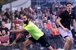 Brněnští squashisté Martin Švec a Daniel Mekbib si minule zahráli proti sobě až ve finále.