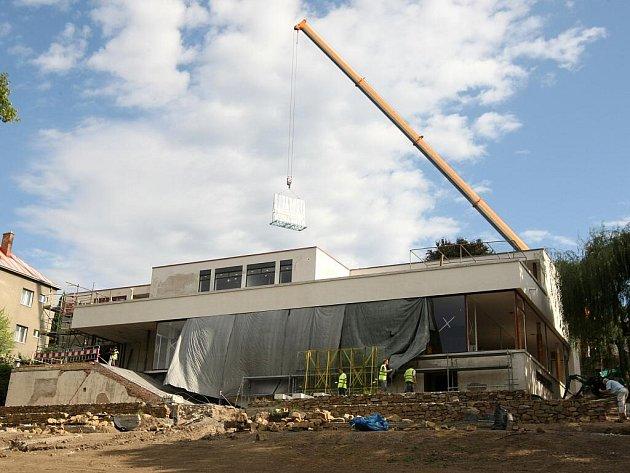 Vila Tugendhat se po rozsáhlých opravách konečně otevře lidem.