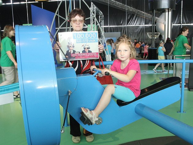 Skoro sedm měsíců funguje brněnský zábavní park Vida. Ve čtvrtek přivítal už stotisící návštěvnici.