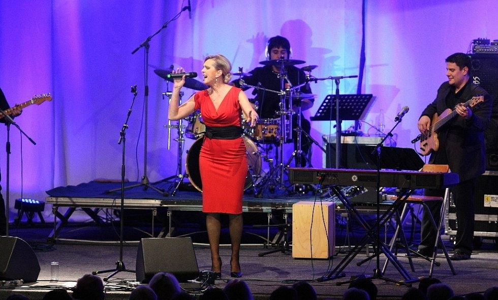 Helena Vondráčková oslavila své narozeniny v brněnském Boby centru.
