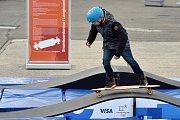 Pondělní události v Olympijském parku v areálu brněnského výstaviště.