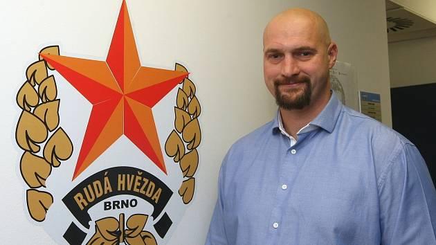 Majitel hokejové Komety Libor Zábranský.