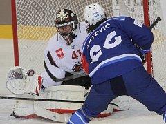 Brněnská Kometa v duelu hokejové Ligy mistrů přišla proti švédskému Malmö o tříbrankový náskok a utkání nakonec rozhodlo až prodloužení, které ovládla v přesilovce Kometa a zvítězila 5:4.