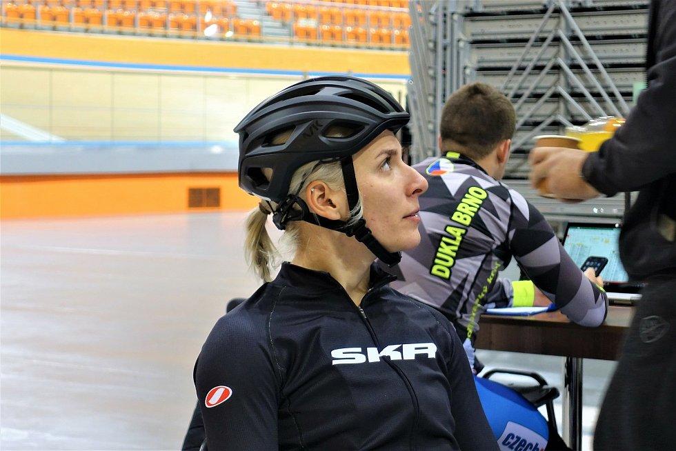 Dráhoví cyklisté brněnské Dukly (Sára Kaňkovská) strávili další dva týdny na soustředění v Bulharsku.
