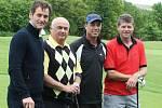 Bývalý tenista Ivan Lendl hrál golf ve Slavkově u Brna.