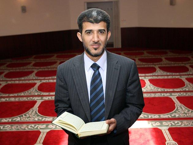 Bývalý předseda Islámské nadace v Brně Muneeb Hassan Alrawi.
