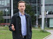 Předseda spolku Brno+ Robert Kotzian.