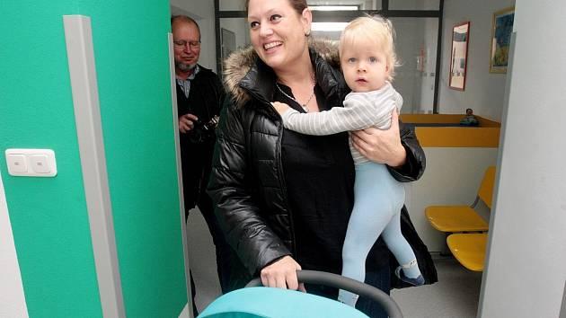 Slavnostní otevření nových infekčních ambulancí v Dětské nemocnici.