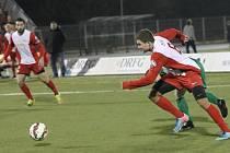 Brno sport fotbal malá kopaná DRFG Superliga Brno (červená) vs Příbram