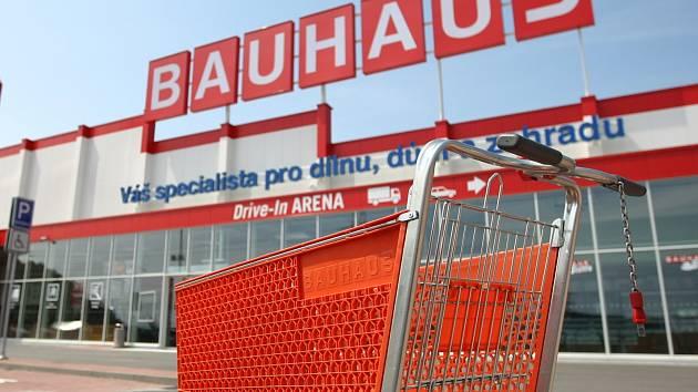 Obchodní dům Bauhaus v Brně-Ivanovicích. Ilustrační foto.