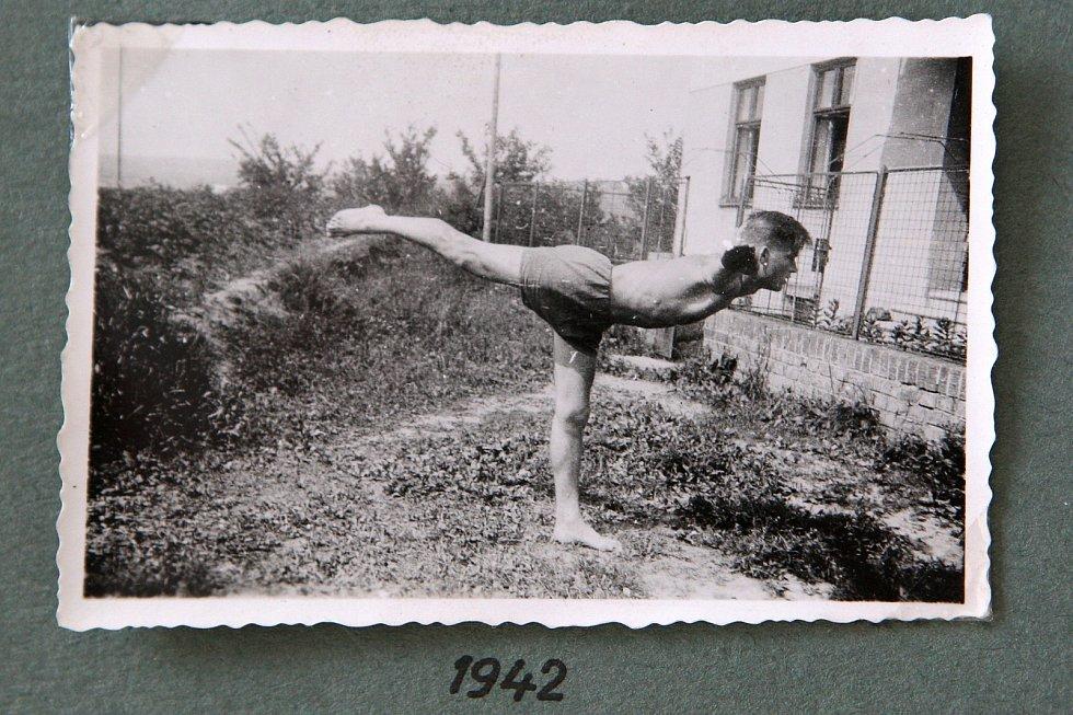 Zdeněk Růžička na archivních fotografii.
