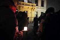 Pietní akt pro zavražděného slovenského novináře.