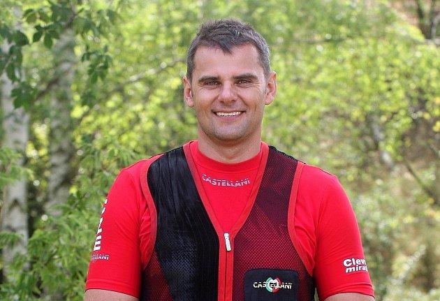 David Kostelecký, 46let, sportovní střelec a olympionik, Brno
