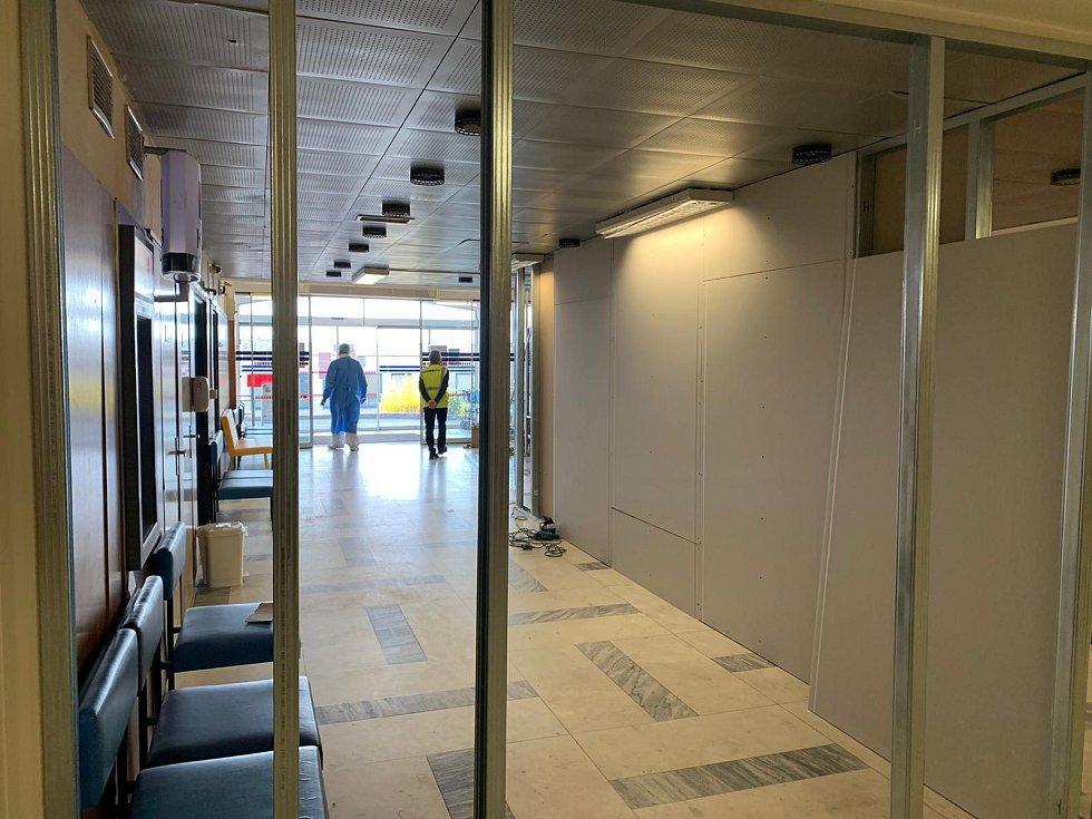 Přísnější opatření přijala k 27. březnu 2020 Nemocnice Znojmo. Foto: FB Nemocnice Znojmo