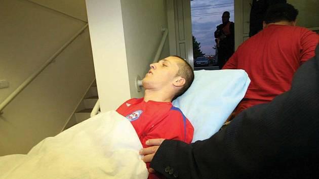 O Martina Kuncla měli strach i diváci na stadionu.