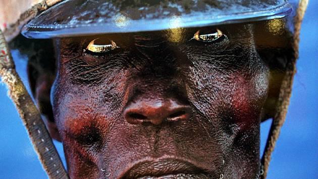 Italský fotograf Gianni Giansanti se na černém kontinentě věnoval především portrétům lidí.
