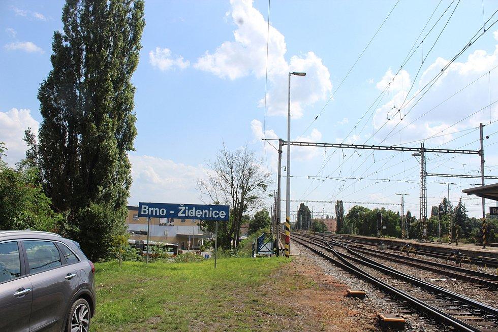 Oprava nádraží v Židenicích
