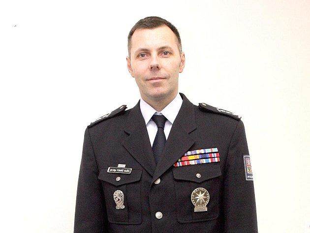 Jihomoravský policejní ředitel Tomáš Kužel.