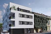V brněnské Valchařské ulici postaví patnáct startovacích bytů.