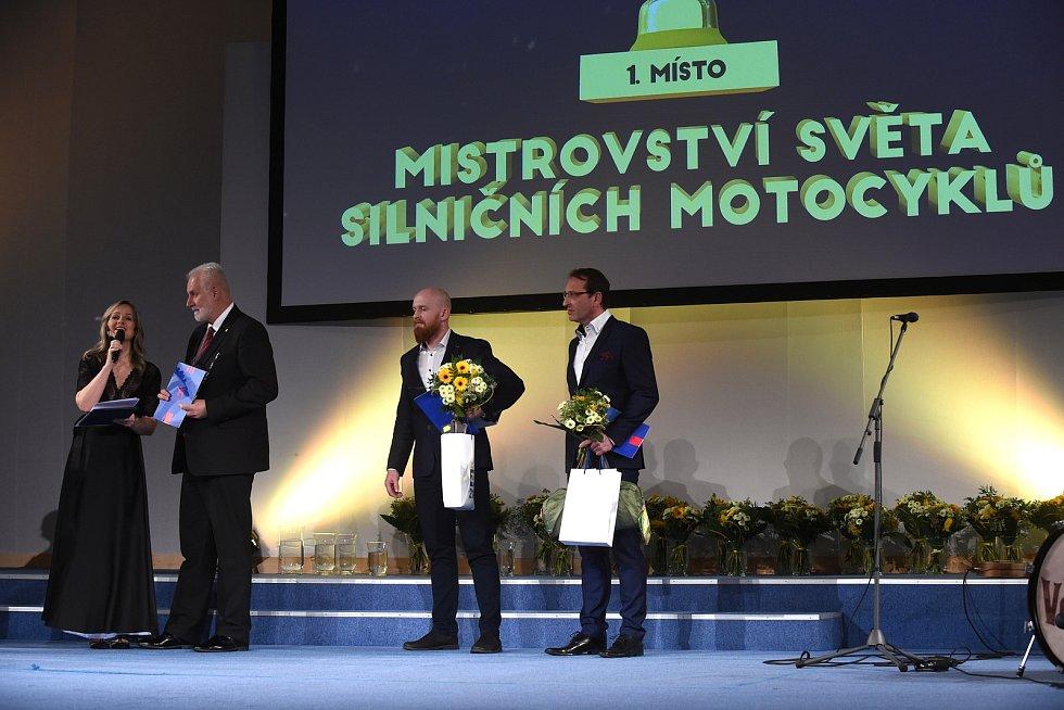 Vyhlášení Sportovce roku Jihomoravského kraje v Rotundě BVV.