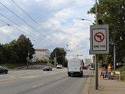 Kvůli rekonstrukci je brněnská Valchařská ulice uzavřená už od Tomkova náměstí.