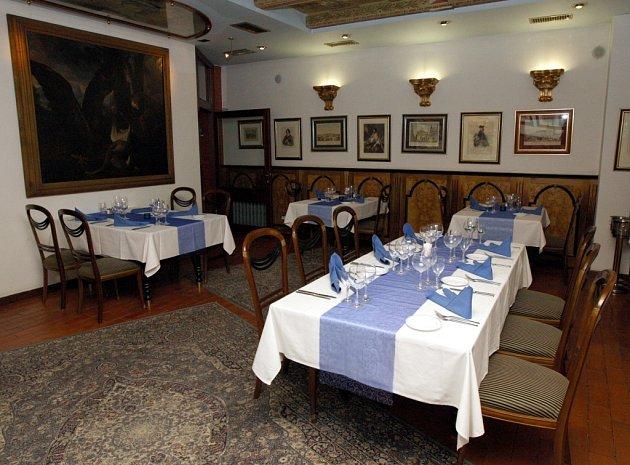 Interiér restaurace Royal Ricc v Brně